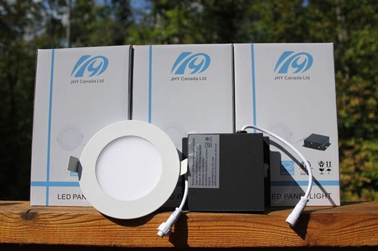 "Picture of Premium plus 4"" Slim panel lights 9w 3000k"